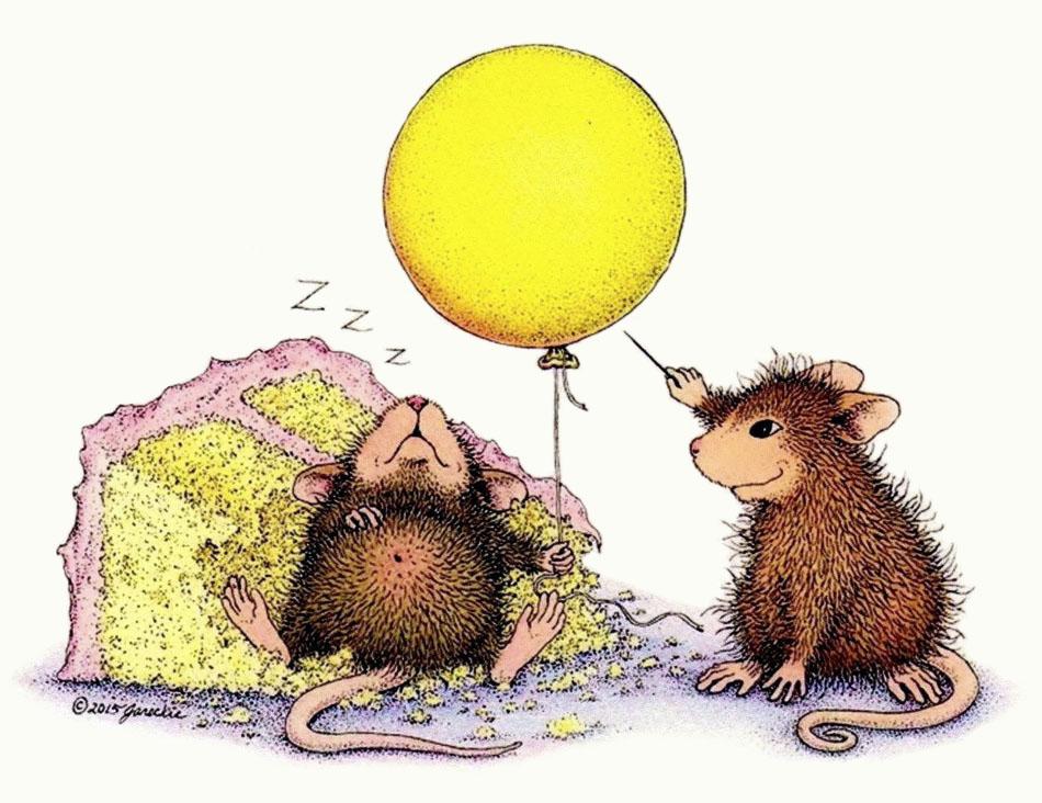 мышка и шарик