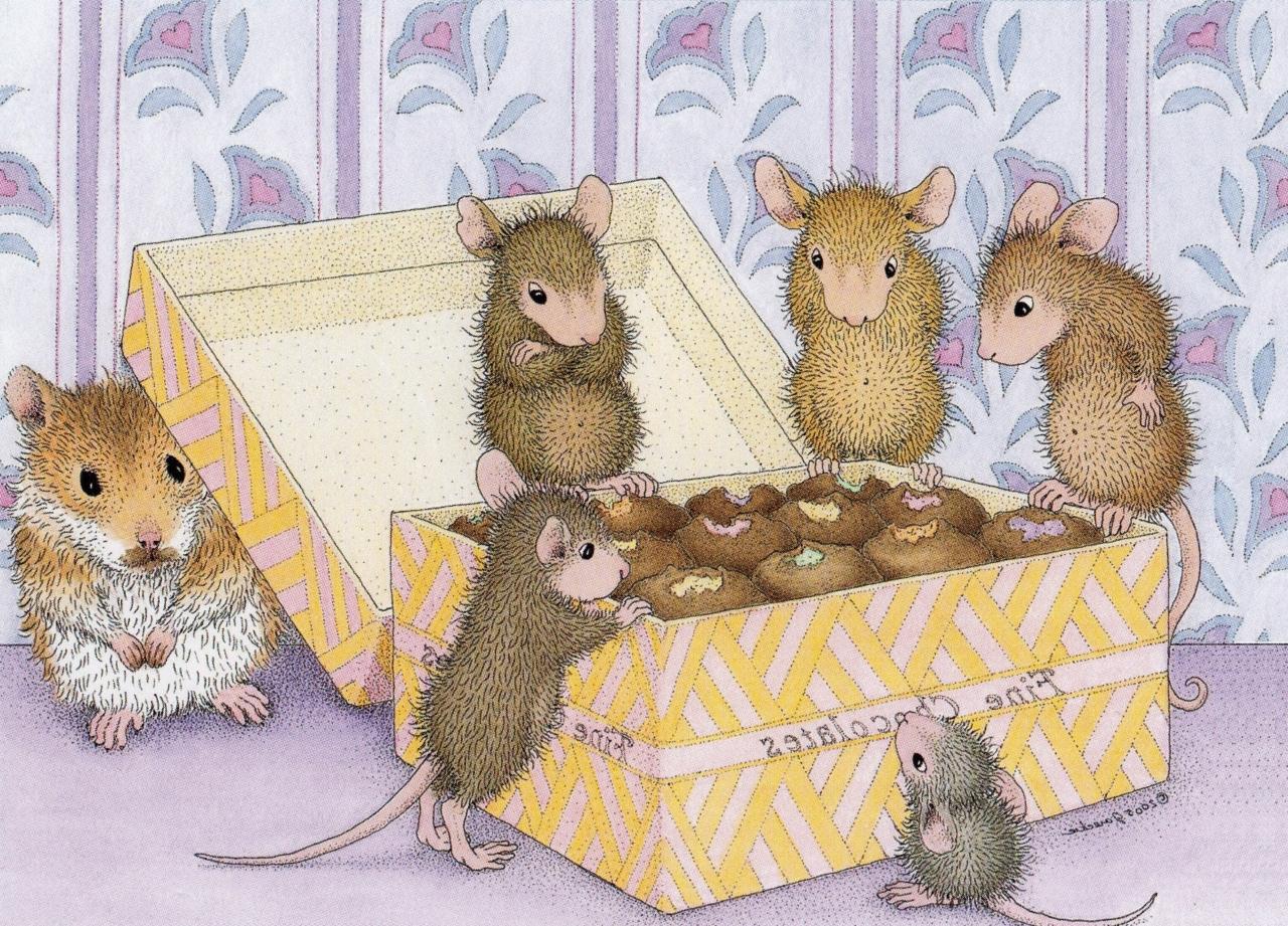 мышки и печенье